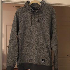 Hood-less hoodie